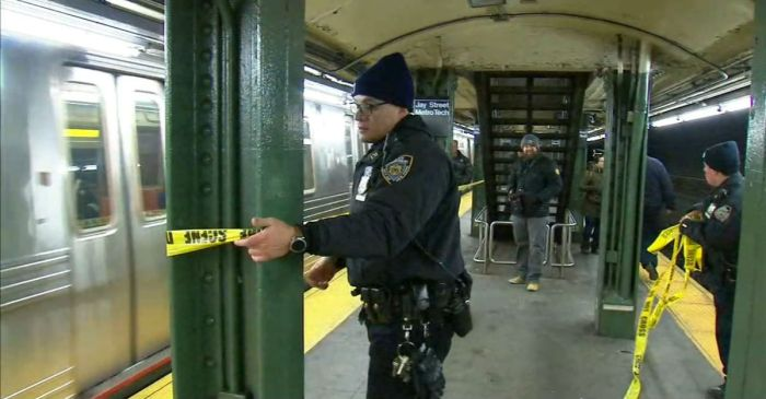 "A man lost his life in the subway after telling a teen off of his medication to ""get away"""