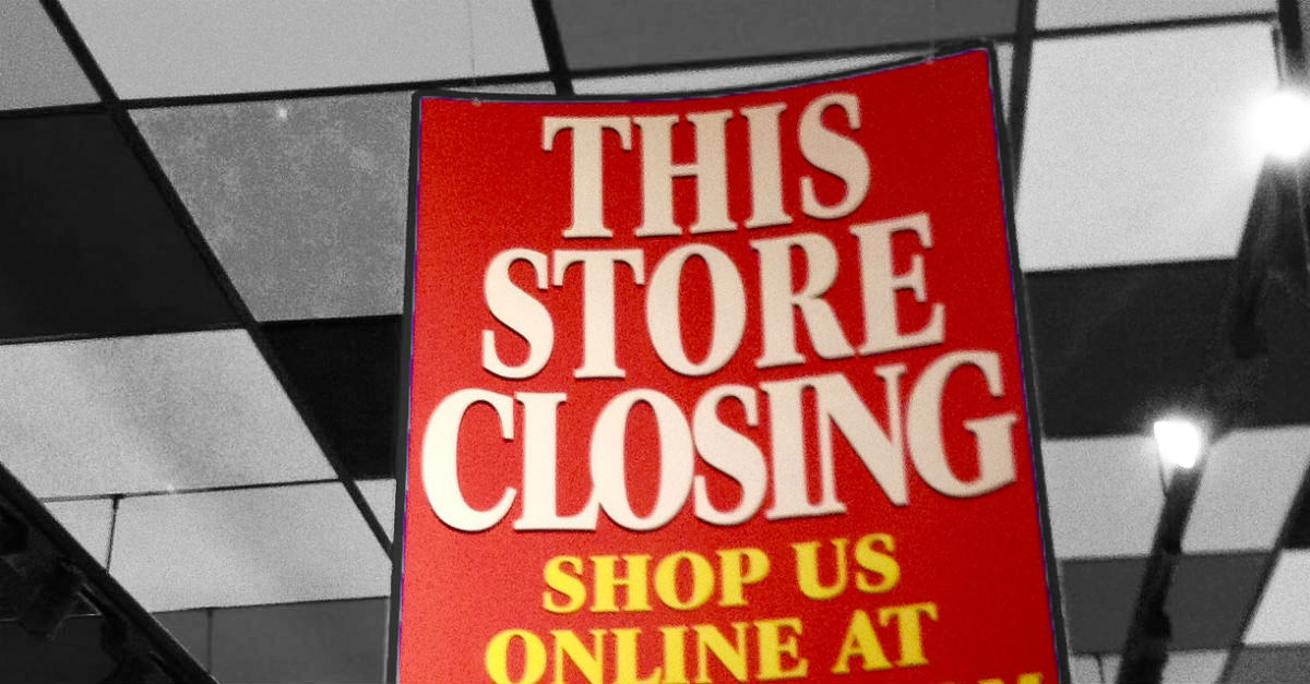 A string of stores may be staring down the barrel of bankruptcy in 2018 — is your favorite on the list?