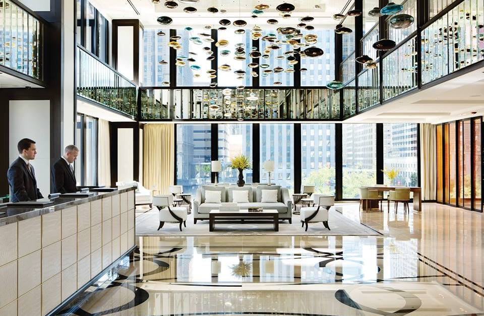 According to TripAdvisor, America's top luxury hotel is in Chicago