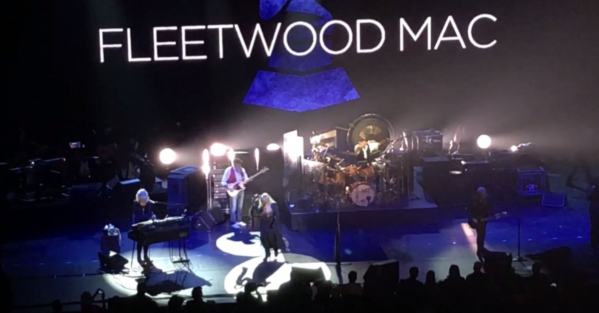 This Fleetwood Mac hit got some special help from a certain British pop star