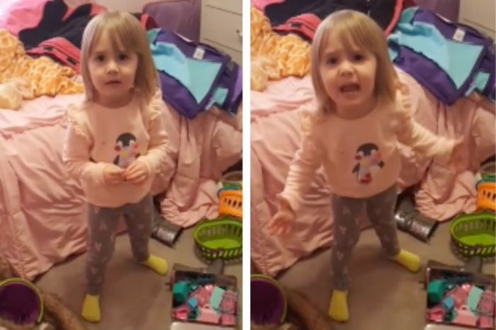 "Hilarious Video Captures Little Girl Screaming ""I Sh*t My Pants!"""