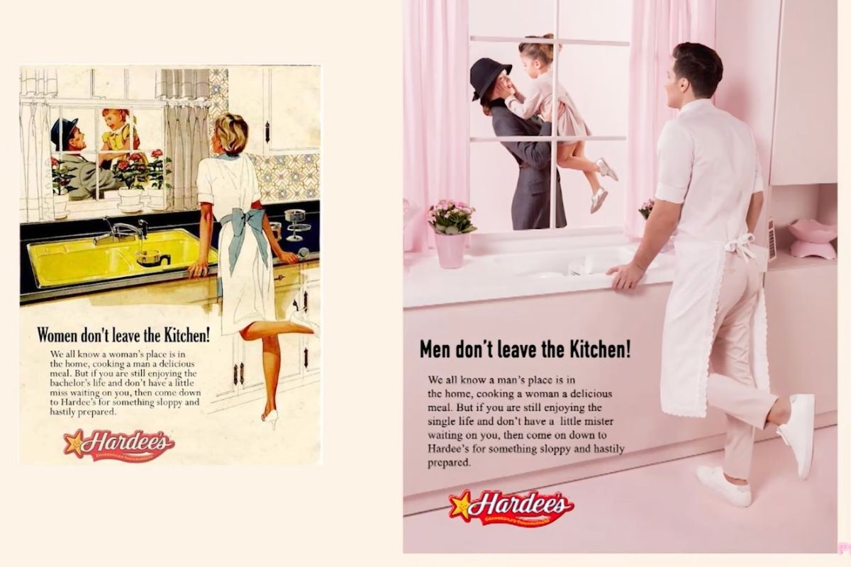 Photographer Reverses Gender Roles in Old, Sexist Ads for Monumental Series