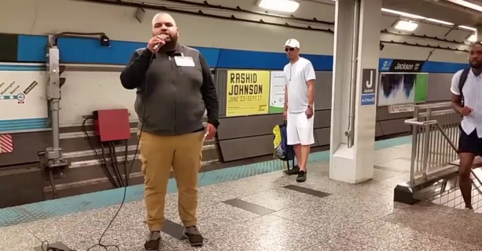 This Chicago subway singer gets invite to The Steve Harvey Show