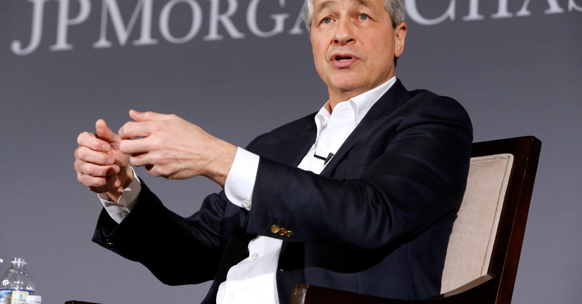 JP Morgan CEO makes a bold prediction about economic growth under Trump's tax reform