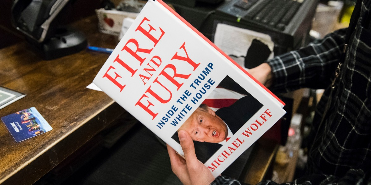 "Everyone is wrong: Donald Trump actually looks like a winner in ""Fire and Fury"""