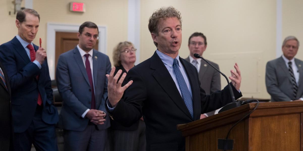 House passes controversial mass surveillance program, Senator Rand Paul says he will filibuster
