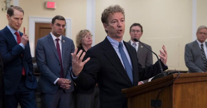 House passes controversial mass surveillance program, Senator Rand Paul says he will filibuster