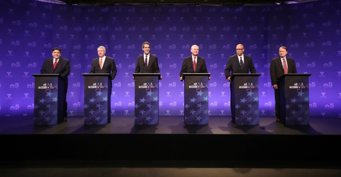 The first televised Democratic governor debate of the season heats things up ahead of March vote