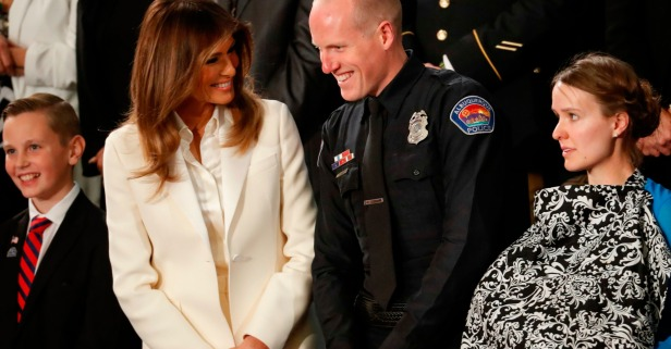 One of Melania's State of the Union guests is a hero in the face of the opioid crisis