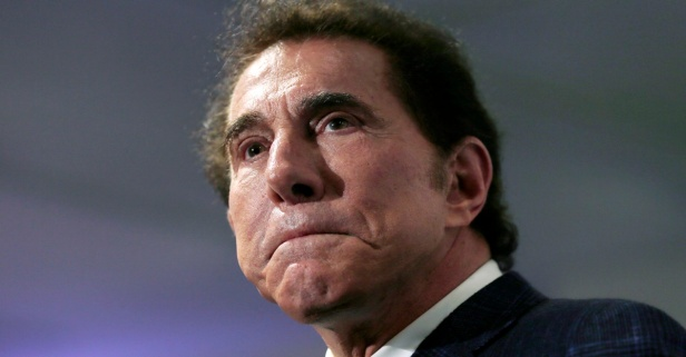 Steve Wynn steps down as the RNC Finance Chair after shocking allegations were made against him