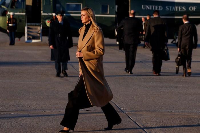 Ivanka Trump's strut past Marine One sent social media into a frenzy