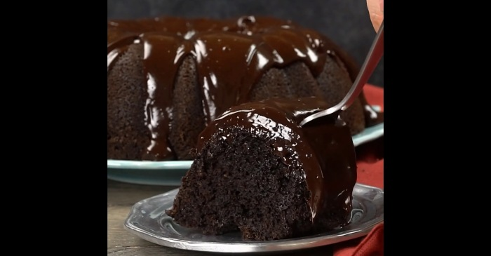 What do you get when you combine brownie mix with chocolate cake mix? Pure deliciousness