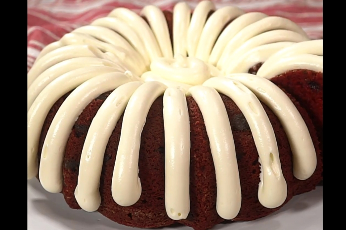 You'll never believe what's in this Nothing Bundt Cakes copycat recipe