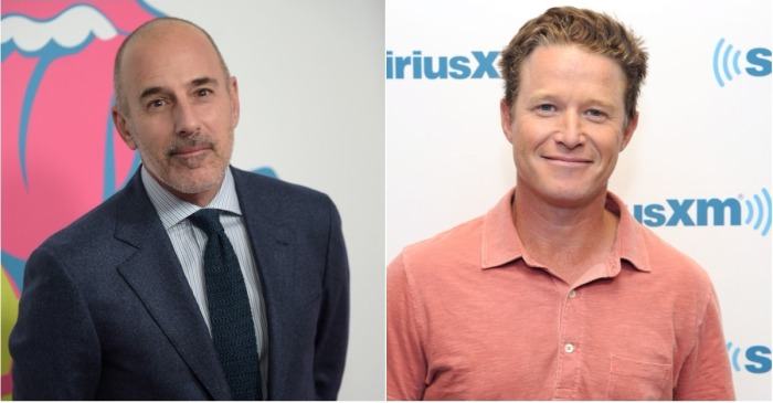 "Fellow ""TODAY"" outcast Billy Bush reveals how he reacted when he heard Matt Lauer had been fired"