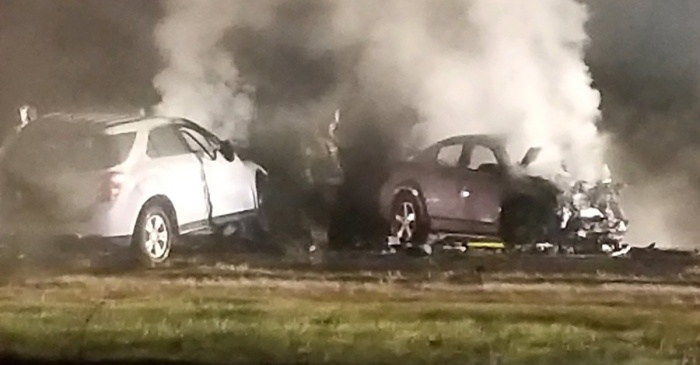 Six people died on a California interstate because one driver was going the wrong way