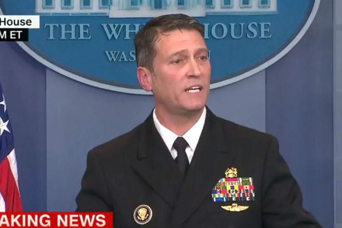 The president's doctor just shut down reporters begging for bad news