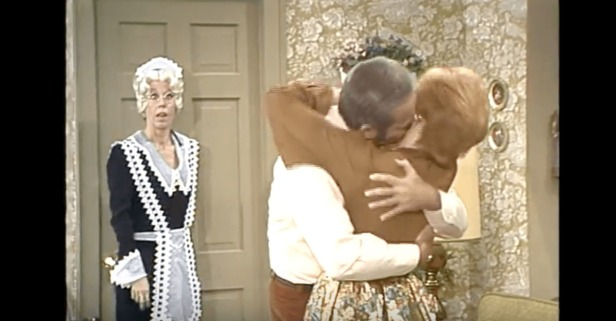 Carol Burnett Couldn't Keep a Straight Face When She Played Mary Worthless