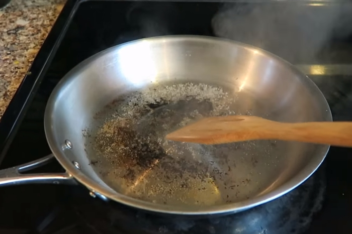 Believe it or not, you can actually clean your nasty pots and pans so they look brand new