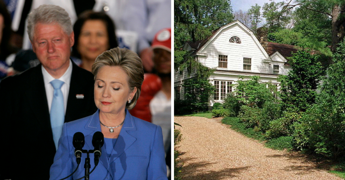 2018 isn't looking any better for Hillary Clinton, as she and Bill's New York home erupts in flames