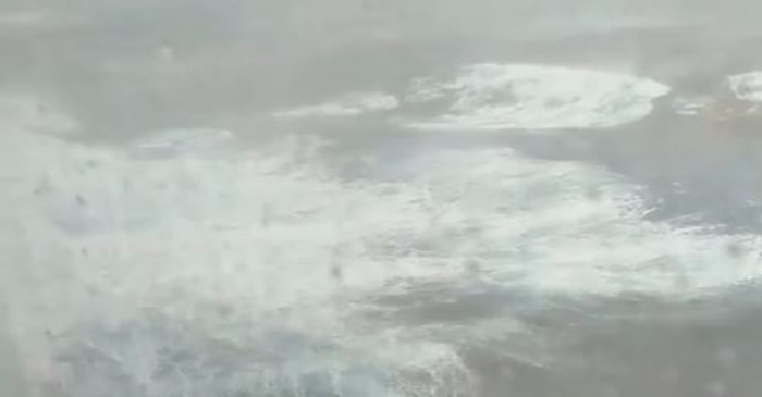 "Passengers aboard a cruise ship during the ""bomb cyclone"" describe death-defying moments at sea"