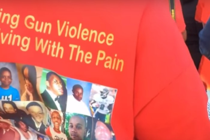 Crowd gathers to take stand against gun violence in Humboldt Park