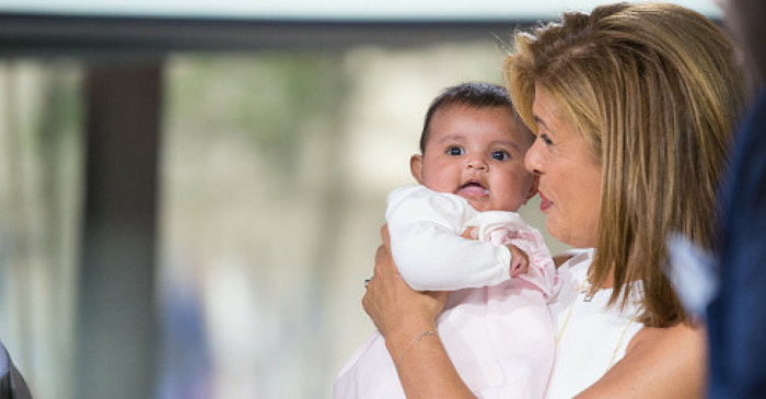 Hoda Kotb shares a heartwarming message about adoption nearly a year after bringing home Haley Joy