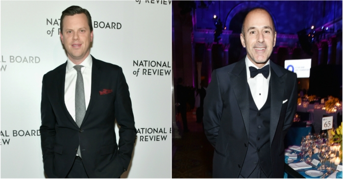 Willie Geist reveals that he's stayed in touch with his old friend Matt Lauer