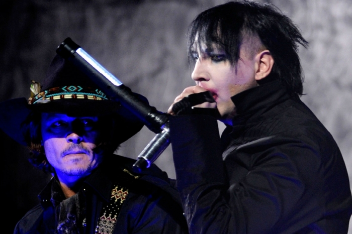 "Marilyn Manson claims ""Johnny Depp is considering a position on guitar"" in his band"
