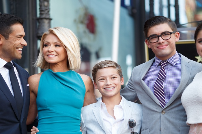 A nostalgic Kelly Ripa posted the most adorable throwback pic of her youngest baby