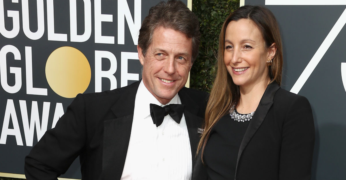 Hugh Grant's girlfriend is pregnant, which means the 57 year old is about to become a dad for the fifth time