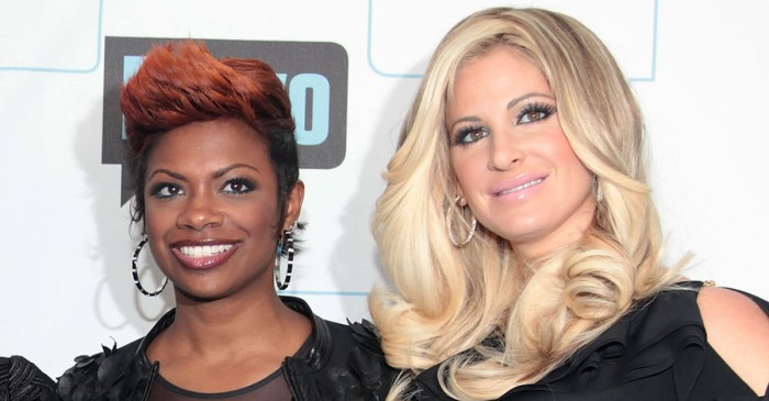 """RHOA'S"" Kandi Burruss slams Kim Zolciak-Biermann for accusing her of trying to hook up in shocking Twitter war"