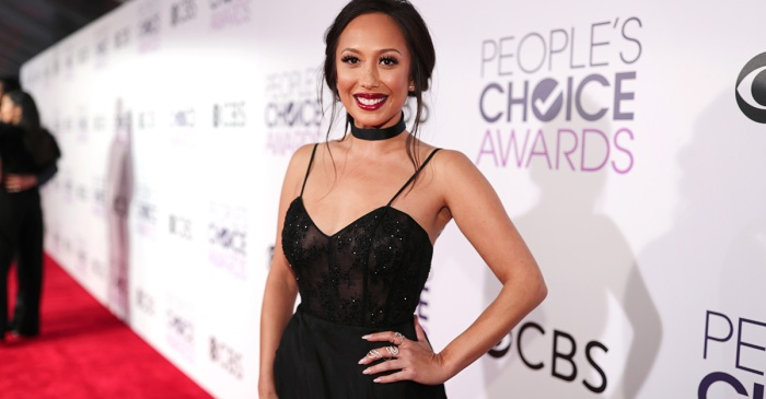 """DWTS"" alum Cheryl Burke applauds USA gymnastics women who are speaking out against Larry Nasser"