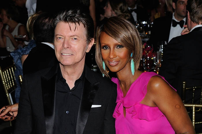 Iman shares rare photos of her late husband David Bowie on what would have been his 71st birthday