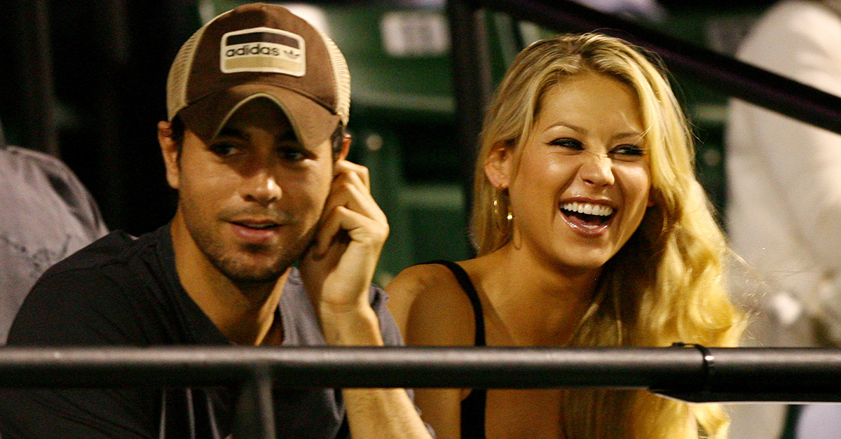 New dad Enrique Iglesias finally shared the first photo of the adorable twins he shares with Anna Kournikova