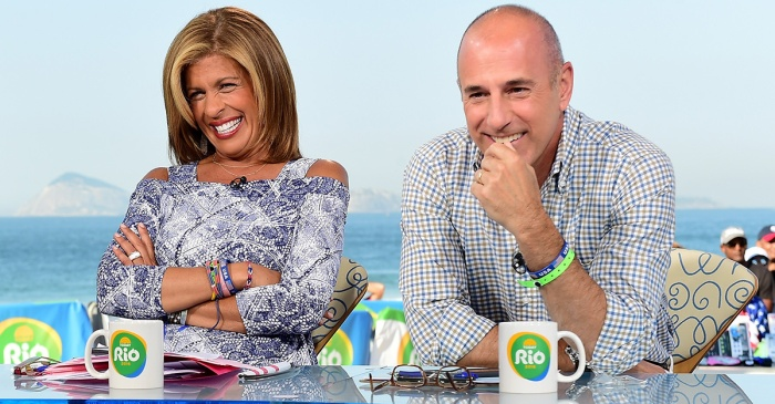 "Matt Lauer had something to say to the news that Hoda Kotb is replacing him on ""TODAY"""