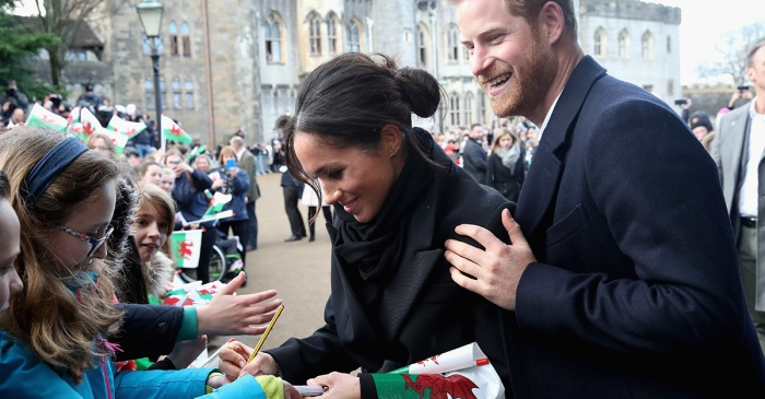 Royal rebel Meghan Markle breaks protocol once again at her latest appearance with Prince Harry