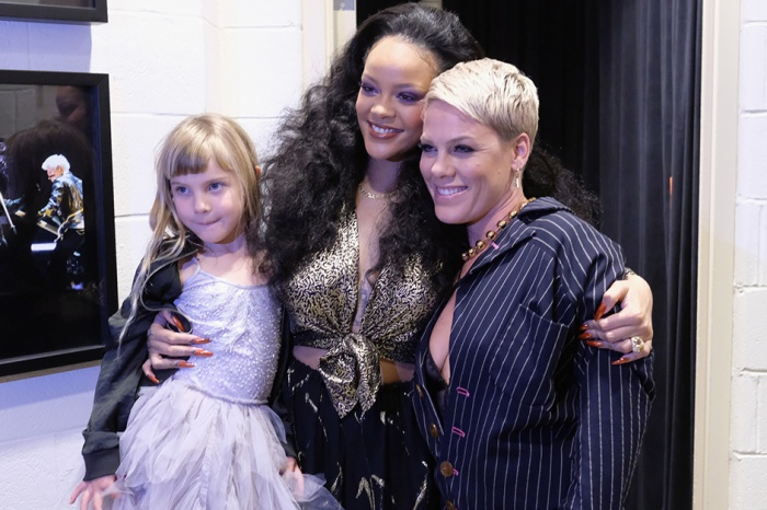 Pink made sure her sweet daughter got to meet her idol at this year's Grammy Awards