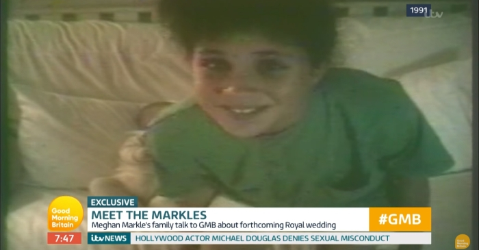 Meghan Markle's parents just shared a childhood video of her — and it's adorable