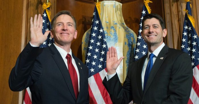 Who is Paul Gosar, and why is he telling Capitol Police and the DOJ how to do their jobs?