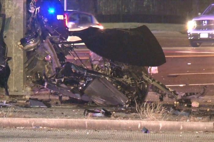 Violent crash on FM 1960 in Humble splits vehicle, taking two lives