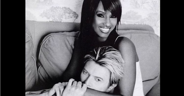 Iman shared an emotional tribute to late husband David Bowie on the anniversary of his death