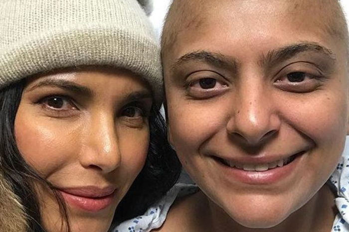 "Padma Lakshmi was by the bedside of a ""Top Chef"" contestant undergoing cancer treatment"