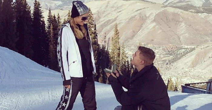 Prepare to be blinded by Paris Hilton's enormous 20-carat engagement ring
