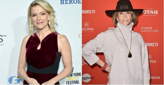 Months after that awkward interview, Megyn Kelly took time out of her show to put Jane Fonda on blast