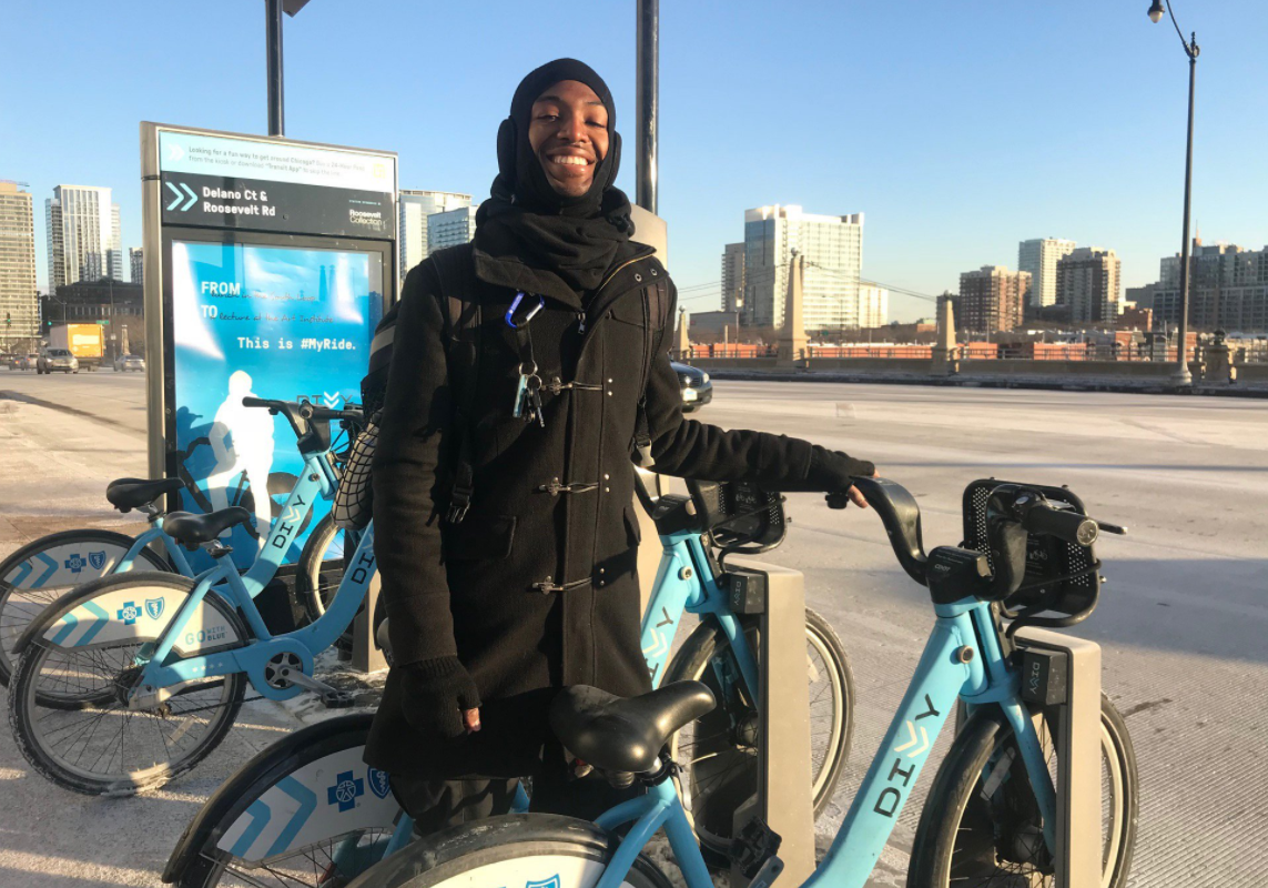 Divvy's top rider might as well have biked to Alaska