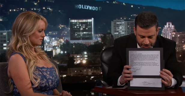 Porn star Stormy Daniels' Jimmy Kimmel interview was as awkward as it gets