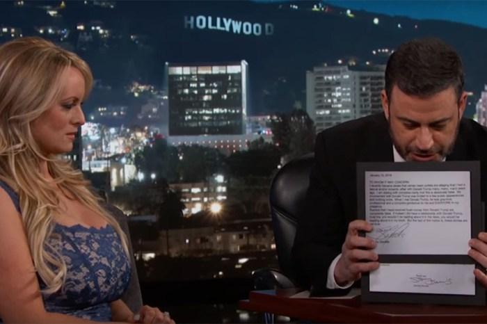 Porn star Stormy Daniels' Jimmy Kimmel interview was as awkward as it gets