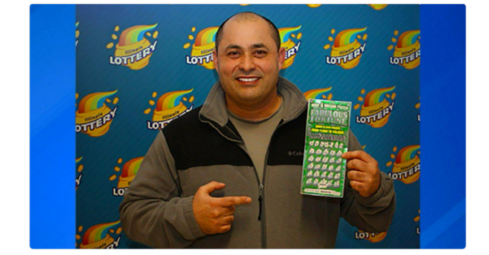 This Chicagoan just won $4 million from a scratch-off Lotto ticket