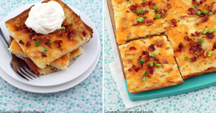 This genius creation is the ultimate thing to make with mashed potatoes