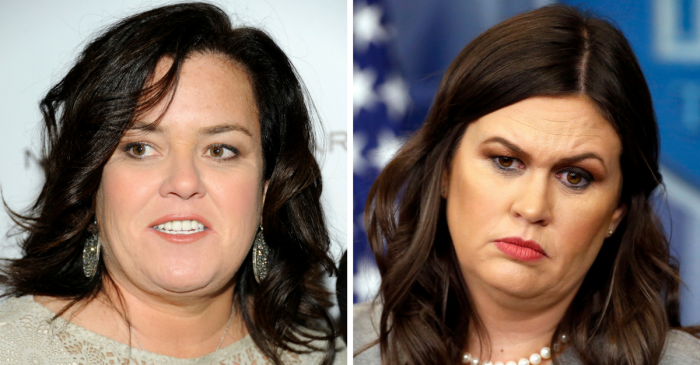 Rosie O'Donnell actually said Sarah Huckabee Sanders is going to burn in hell
